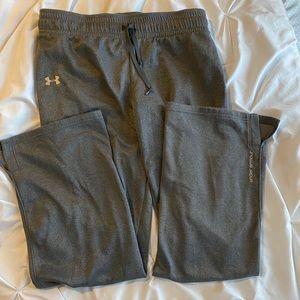 Dark Gray Under Armour Sweatpants